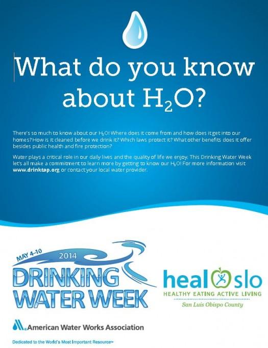 Drink Water Week