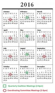 HEAL SLO 2016 Calendar