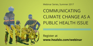 Communicating Climate Change as a Public Health Issue Twitter